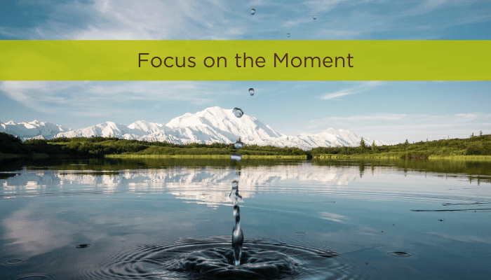 Focus on the Moment