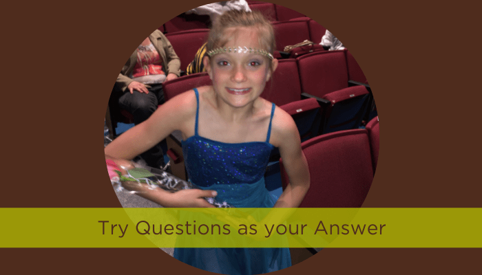 Try Questions As Your Answer