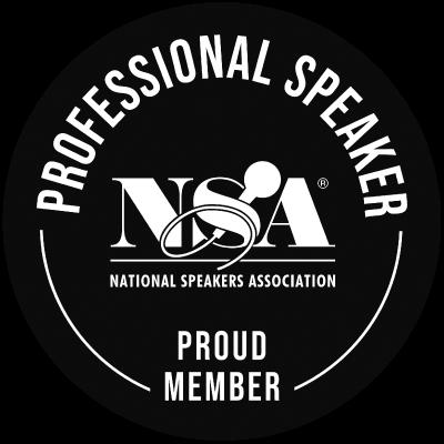 Professional Speaker NSA badge