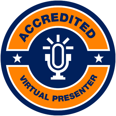 Accredited Virtual Presenter Badge